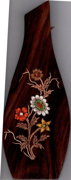Mysore Floral Inlay