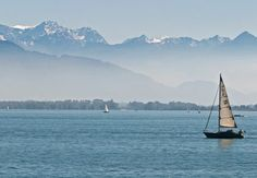 yes please! Bodensee lake... those gorgeous mountains would be the Swiss Alps!