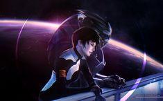 Garrus Vacarian,ME персонажи,Mass Effect,фэндомы,Femshep,Commander Shepard