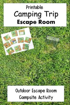 Camping Theme Escape Room - Camping Trip Activity - Hands-On Teaching Ideas