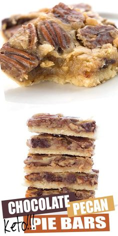 These gooey keto pecan pie bars are da bomb and will quickly become y… Oh Em Gee! These gooey keto pecan pie bars are da bomb and will quickly become y. -Oh Em Gee! These gooey keto pecan pie bars are da bomb and will quickly become y. Low Carb Sweets, Low Carb Desserts, Easy Desserts, Low Carb Recipes, Delicious Desserts, Bar Recipes, Yummy Dessert Recipes, Keto Desert Recipes, Desserts For A Crowd