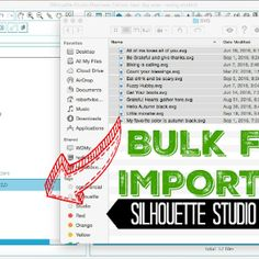 Need to print the Silhouette Studio library? This Silhouette CAMEO hack will show you how to print out your entire Silhouette Studio library of designs so you have a paper copy.