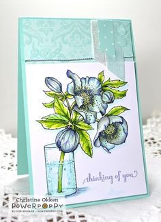ChristineCreations: Hellebore