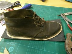 DIY Resoled my clark desert boots #styled247