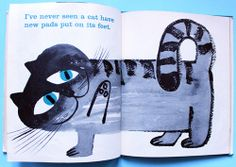 My Vintage Avenue !!! 50's and 60's illustrations !!!: A Fresh Look At Cats illustrated by Sir Abner Graboff in 1963 !!! :)