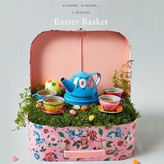 """16.5k Likes, 372 Comments - Anthropologie (@anthropologie) on Instagram: """"Easter candy, meet eye candy: bespoke Easter baskets from our visual team, now on the blog."""""""