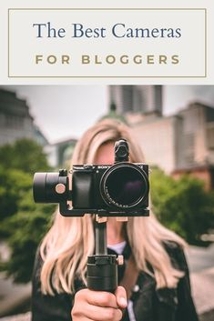 Whether you are a blogger looking to add your own dynamic photos to your blog, or a vlogger needing to capture high-quality video to post on YouTube, finding a great camera that will stand up to whatever fun you put it through can be difficult. Let us help you out with this guide on finding the best cameras for bloggers. #bestcameraforbloggers #cameraforblogging  #cameraforvlogging #BestcameraforYouTube #Bestbloggingcameras #BestcamerasforInstagram #DSLRCameraforInstagram… Canon Dslr Camera, Camera Hacks, Canon Cameras, Camera Tips, Leica Camera, Canon Lens, Camera Gear, Gopro Photography