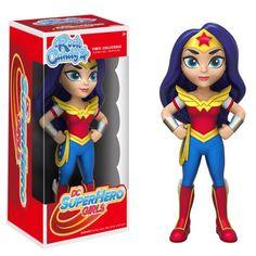 DC Super Hero Girls Wonder Woman Rock Candy Vinyl Figure