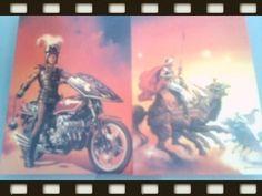 ❤ 2 Boris Vallejo Collector Cards ❤
