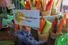 Dinosaur party snacks