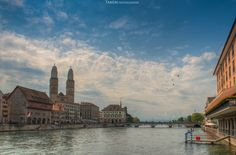 Zürich HDR by Tamim Photographer on Hdr, Landscape, Scenery, Corner Landscaping