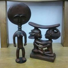 Reproducciones de figuras Africanas