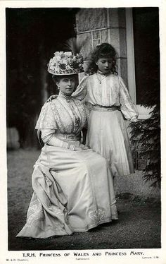 Mary, Princess of Wales with her daughter Princess Mary | Flickr - Photo Sharing!