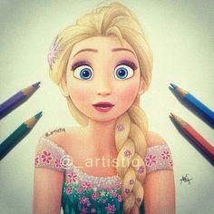 Elsa (frozen fever)