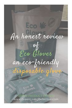 "Eco Gloves market their product as looking like plastic and feeling like plastic, but ""doesn't take 1000 years to breakdown."" They don't contain latex, powder, parabens, phthalates, petroleum distillates, or artificial colorants. They are 100% certified compostable and can be composted at home or commercially. Excellent, we're on the right track! But how do they really work? >>>> #disposablegloves #ppe #sustainability #plasticfree #ecogloves #green #ecofriendly #plasticfreeliving"