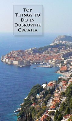Wondering what to do in Dubrovnik, Croatia? Check out this 4-day itinerary #Croatia #travel