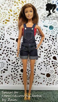 DIY - Одежда для кукол Барби (своими руками)
