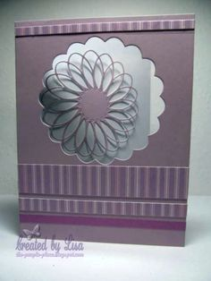 Memory Box Window Card by ThePurplePlace, via Flickr