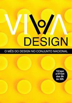 Postal divulgado pela MiCA para a Viva Design: encontro entre marcas e empresas inovadoras.