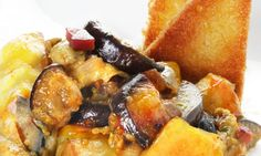 Un revuelto con berenjenas,¡¡¡buenísimo!!! Squashes, Eggplant Recipes, Zucchini, Pork, Cooking, Breakfast, Ethnic Recipes, Sweet, Tortillas