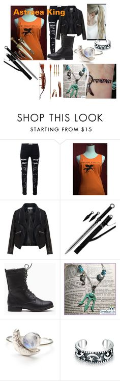 """""""Astraea King"""" by kaye-wonderland ❤ liked on Polyvore featuring Zizzi and Bling Jewelry"""