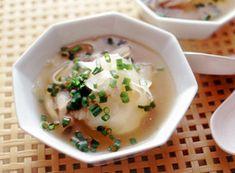 大根としめじの中華スープ
