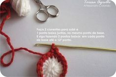 tutorial coruja de croche