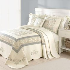 Home Classics Geneva Bedspread Coordinates