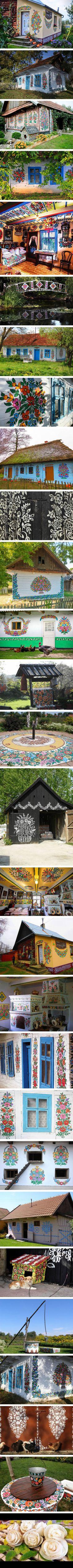 Zalipie, Poland's Prettiest Painted Village