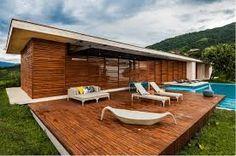 Afbeeldingsresultaat voor houten terras met trap