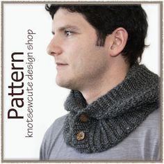 Boyfriend Hood  Crochet Pattern PDF  INSTANT by knotsewcute