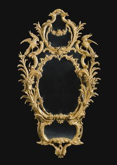 A GEORGE III GILTWOOD MIRROR CIRCA 1765, ATTRIBUTED TO THOMAS CHIPPENDALE