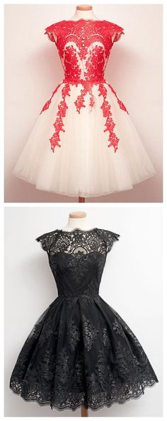 Round Neck Cap Sleeve Lace Spliced Voile Women's Dress
