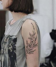 Spring on Arm, Lovely Tattoos for Girls