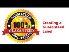 ▶ CorelDraw Tutorial - Creating a Guarantee Label - YouTube