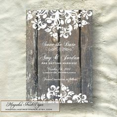 Hey, I found this really awesome Etsy listing at https://www.etsy.com/listing/196050603/printable-rustic-save-the-date