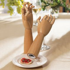 Artist Manikin Handy Salt And Pepper Mills