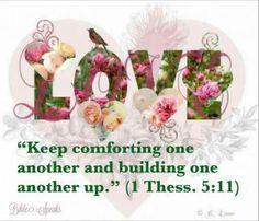 I Thessalonians 5:11