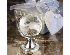 Crystal Globe Favour