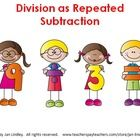 This interactive power point is highly engaging and will help your students understand the strategy of using repeated subtraction to solve a divisi...