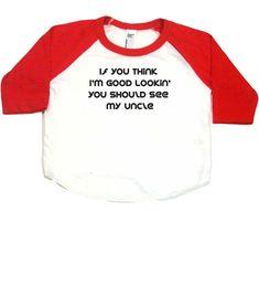 Baseball Bébé T-Shirt avec Texte Neuf Noir 86