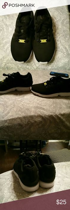 Adida zx flux In good condition worn twice 7y so like a women's 9 adidas Shoes Sneakers