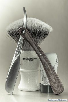 Feather Artist Club DX razor, Truefitt and Hill/Rooney silvertip badger brush, Palmolive shave stick soap. Sep 14 2013 - Gallery
