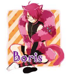 Cheshire cat   anime   boris airay   chibi   heart no kuni no alice