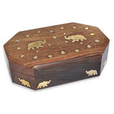jewelry box, wood jewelry box
