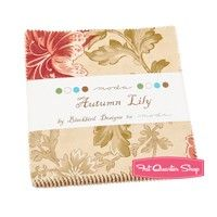 Autumn Lily Charm Pack Blackbird Designs for Moda Fabrics