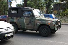 Украинские военные тестируют внедорожник Kia KM 420