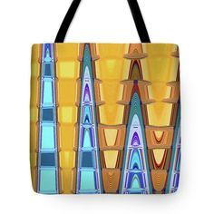 Tempe Center For The Arts Abstract Tote Bag by Tom Janca.  The tote bag is machine washable, available in three different sizes, and includes a black strap for easy carrying on your shoulder.  All totes are available for worldwide shipping and include a money-back guarantee.