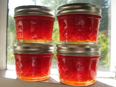 The first batch of this jelly-like jam was sweet and hot, delicious. The second batch was spiced, half with star anise and half with cardamom, tastes and aromas of a holiday season. The third batch… Jelly Recipes, Jam Recipes, Canning Recipes, Holiday Recipes, Canning 101, Chutney Recipes, Canning Jars, Yummy Recipes, Free Recipes