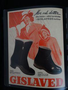 Gislaveds bottiner I 1945